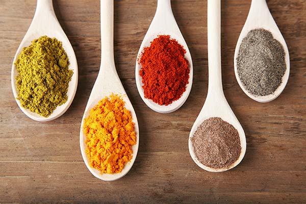 Spices at bulk food store Columbus Ohio